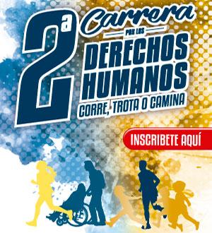 Inscripción a la Segunda Carrera por los Derechos Humanos