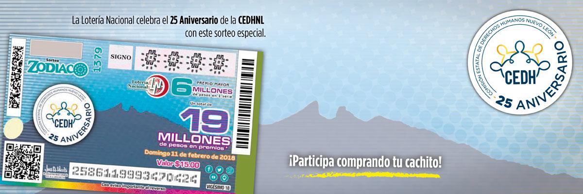 Comunicado 10: Inicia CEDHNL Festejos del 25 Aniversario con Billete Conmemorativo